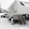 What keeps you warm when going cold weather camping